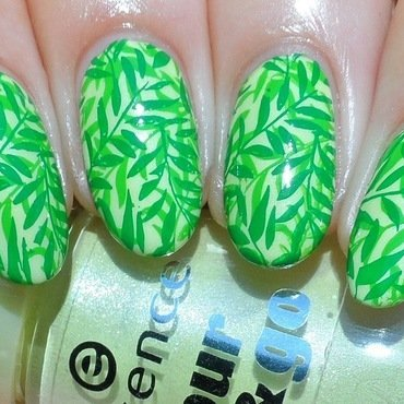 Forest nail art by Plenty of Colors