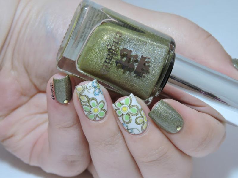 World Environment Day nail art by Marine Loves Polish