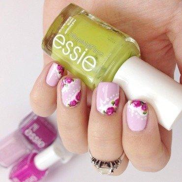 🌹 nail art by Alina E.