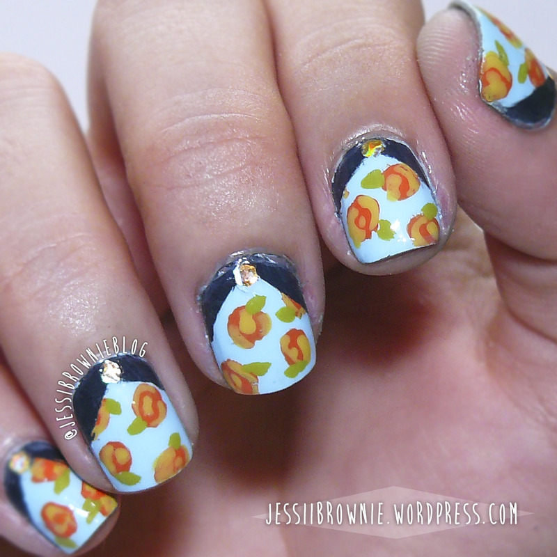 Blogger Inspired Nail Art nail art by Jessi Brownie (Jessi)