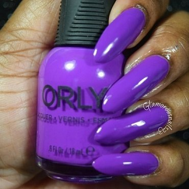 Orly Be Daring Swatch by glamorousnails23