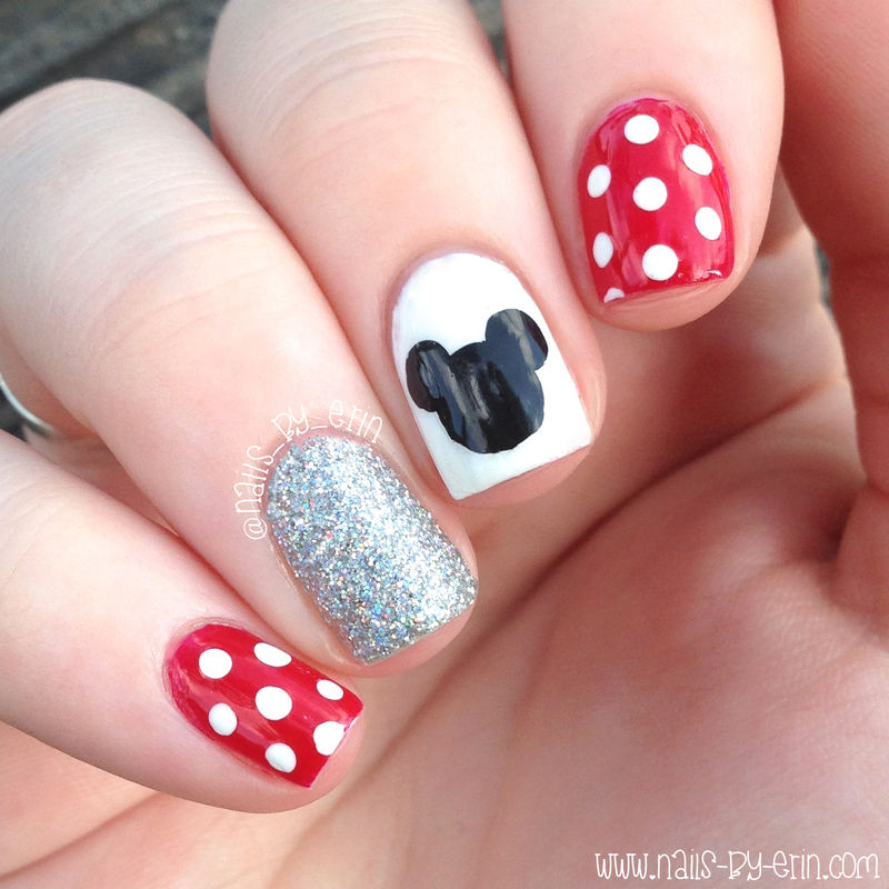 Disney Nails nail art by Erin - Disney Nails Nail Art By Erin - Nailpolis: Museum Of Nail Art