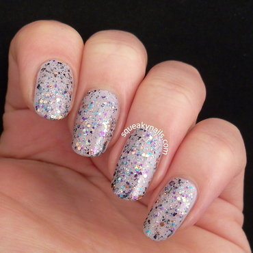 Essence bibbdi-bobbidi-boo and Shimmer Polish Wendy Swatch by Squeaky  Nails