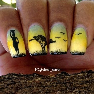 The Water Carrier  nail art by Dess_sure