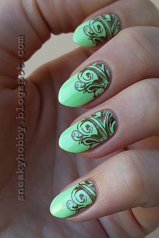 Pistachios In Chocolate nail art by Mgielka M
