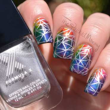 Sephora Formula X Infinite Ombré nail art by The Polished Mommy