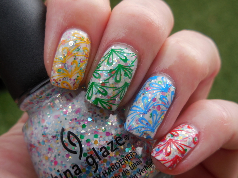 Color! nail art by Donner