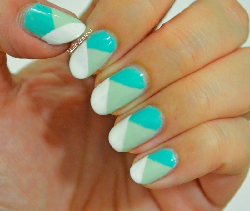 Minted  nail art by NailsContext
