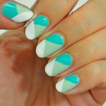 Minted  nail art by NailsContext