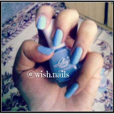 Christine sky blue Swatch by Wish Mrt'xa