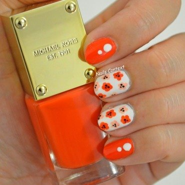 MICHAEL KORS - PASSION nail art by NailsContext