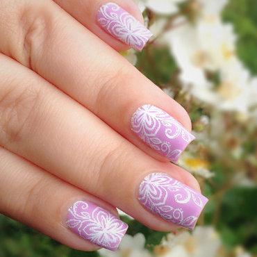 Lavender Nails nail art by Natasha