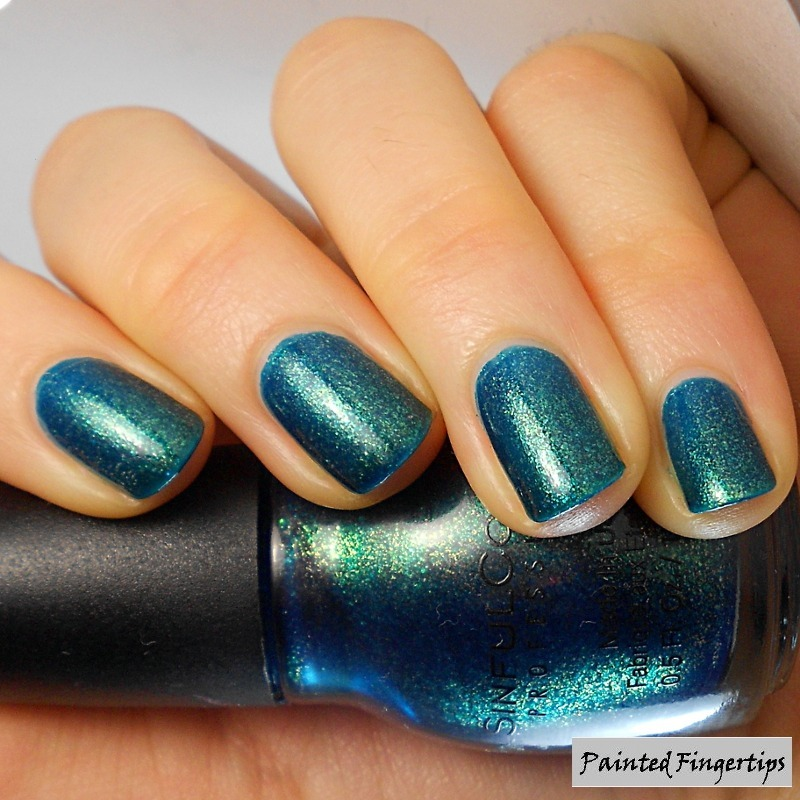 Sinful Colors Kissy Swatch by Kerry_Fingertips