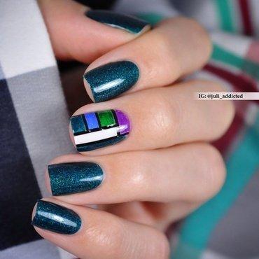 #105 nail art by Juli