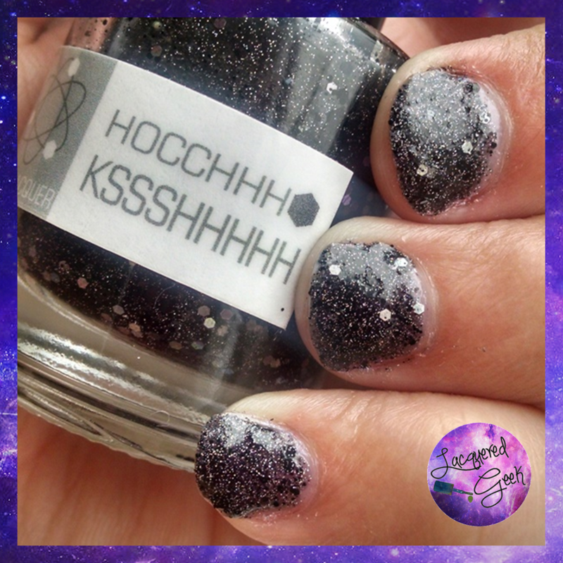 Nerd Lacquer Hocchhh Kssshhhhh Swatch by Kim (Lacquered Geek)