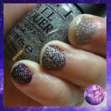 OPI My Voice is a Little Norse Swatch by Kim (Lacquered Geek)
