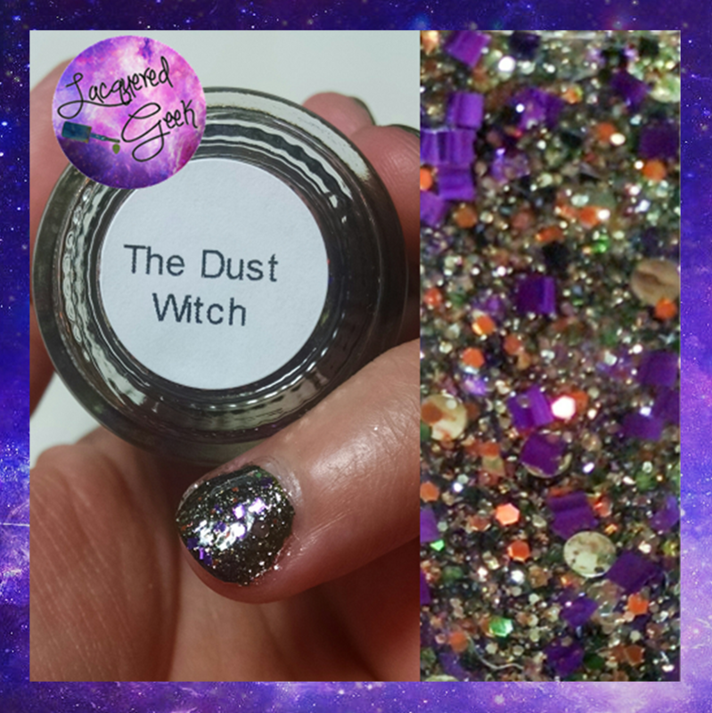 Pahlish The Dust Witch Swatch by Kim (Lacquered Geek)
