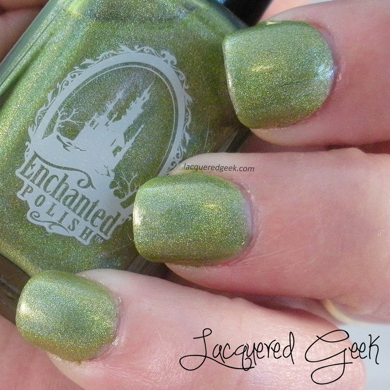 Enchanted Polish March 2014 Swatch by Kim (Lacquered Geek)