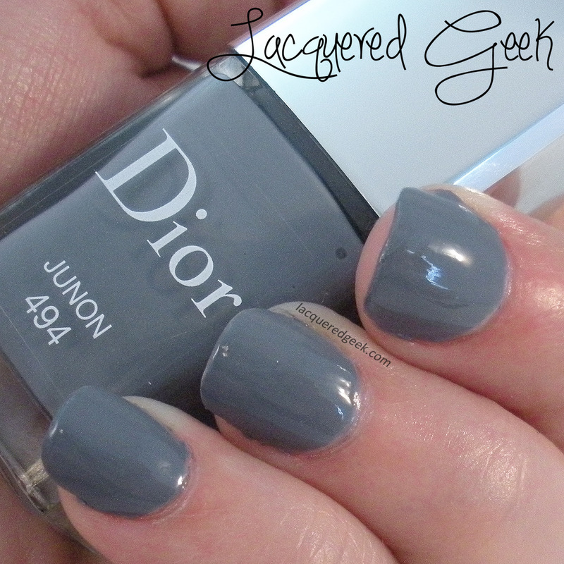 Dior Junon Swatch by Kim (Lacquered Geek)
