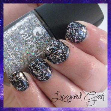 Gabriel Cosmetics Shine Ya'll Swatch by Kim (Lacquered Geek)