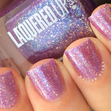 Laquered Up Oahu Swatch by Crystal Bond