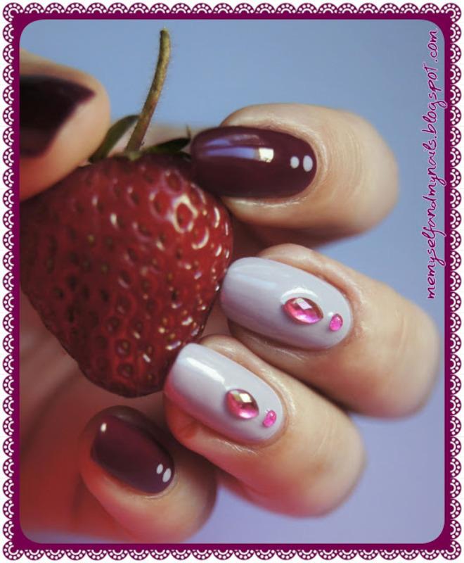 Lilac... nail art by ELIZA OK-W