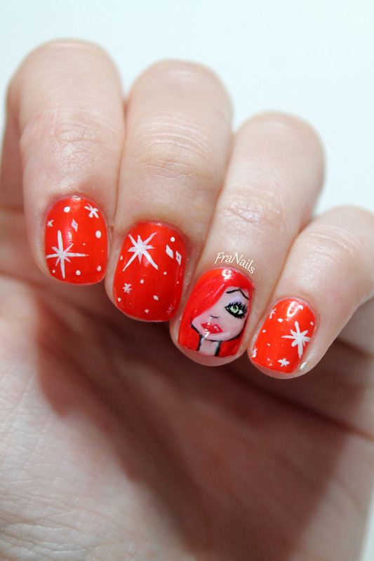 Jessica Rabbit nails nail art by Fran Nails - Nailpolis: Museum of ...