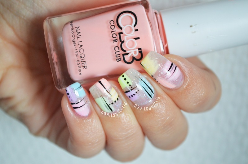 Abstract Fun Nail Art By Julia Nailpolis Museum Of Nail Art