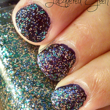 Hard Candy Party Lights Swatch by Kim (Lacquered Geek)