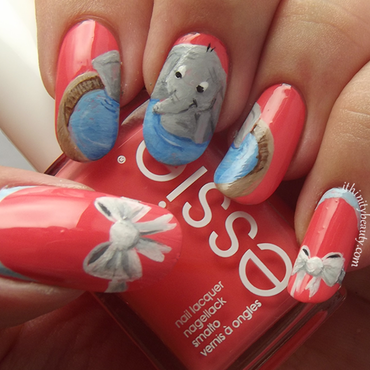 Dumbo nail art by Ithfifi Williams