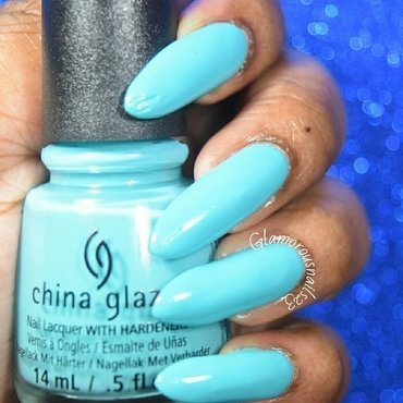 China Glaze Rain Dance The Night Away Swatch by glamorousnails23