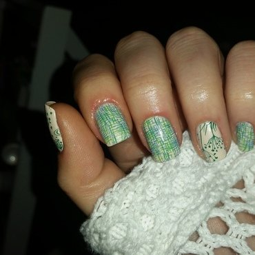 lake time nail art by redteufelchen86