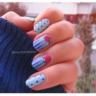Mix and match nail art by Mary