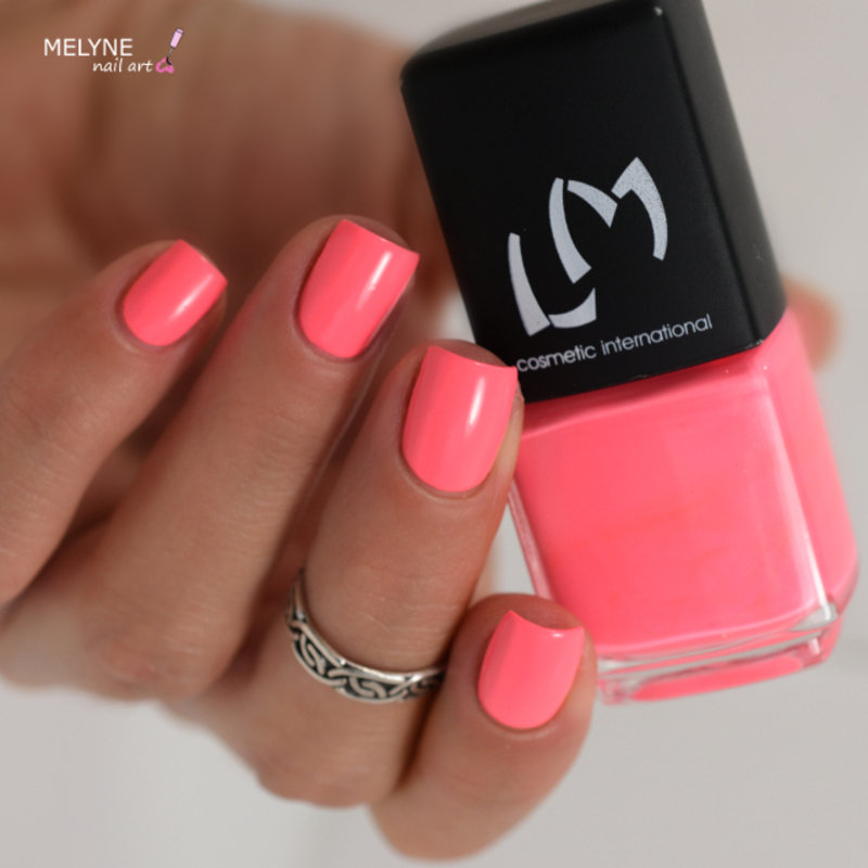 LM Cosmetic Coral Sugar Swatch by melyne nailart