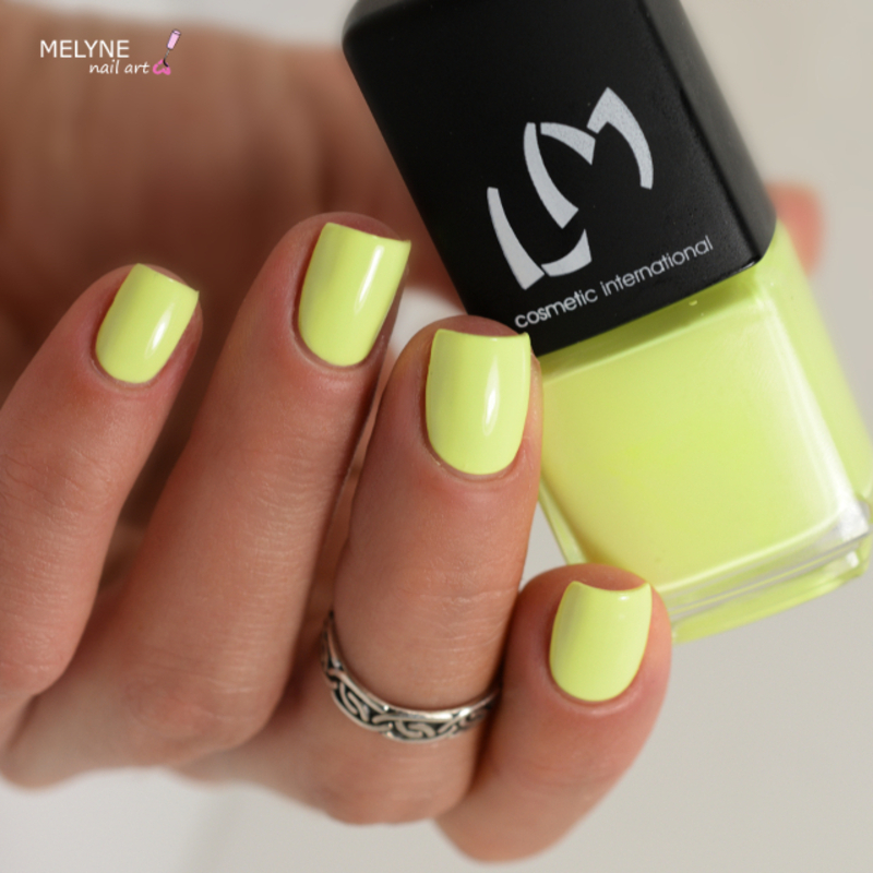 LM Cosmetic Yellow Popsicle Swatch by melyne nailart