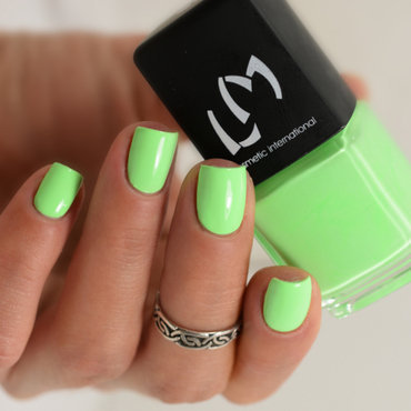 LM Cosmetic Green Apple Pop Swatch by melyne nailart