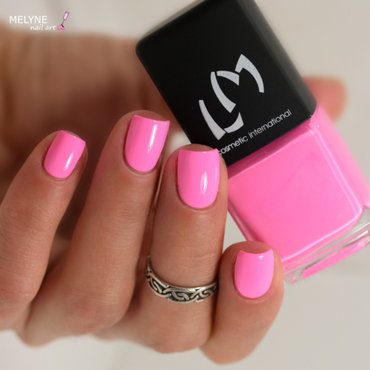 LM Cosmetic Pinky Swirl Swatch by melyne nailart