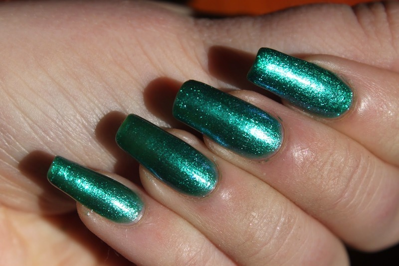 Hard Candy Touch Of Teal Swatch by Elizabeth Hemingway