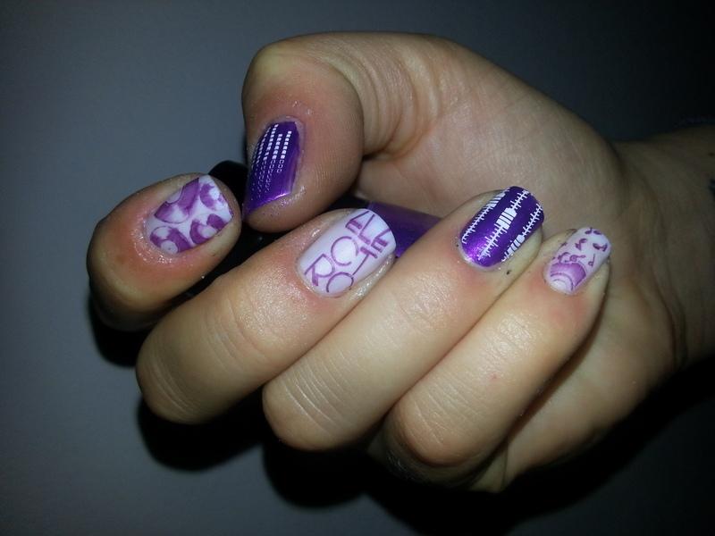 music up nail art by redteufelchen86