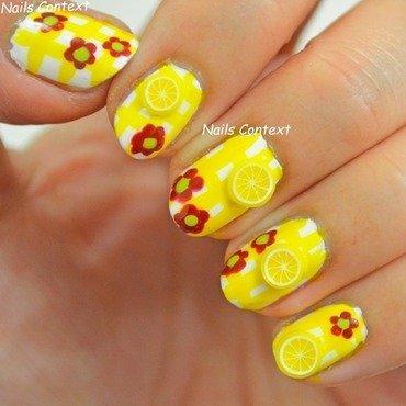Lemon Nail Art nail art by NailsContext