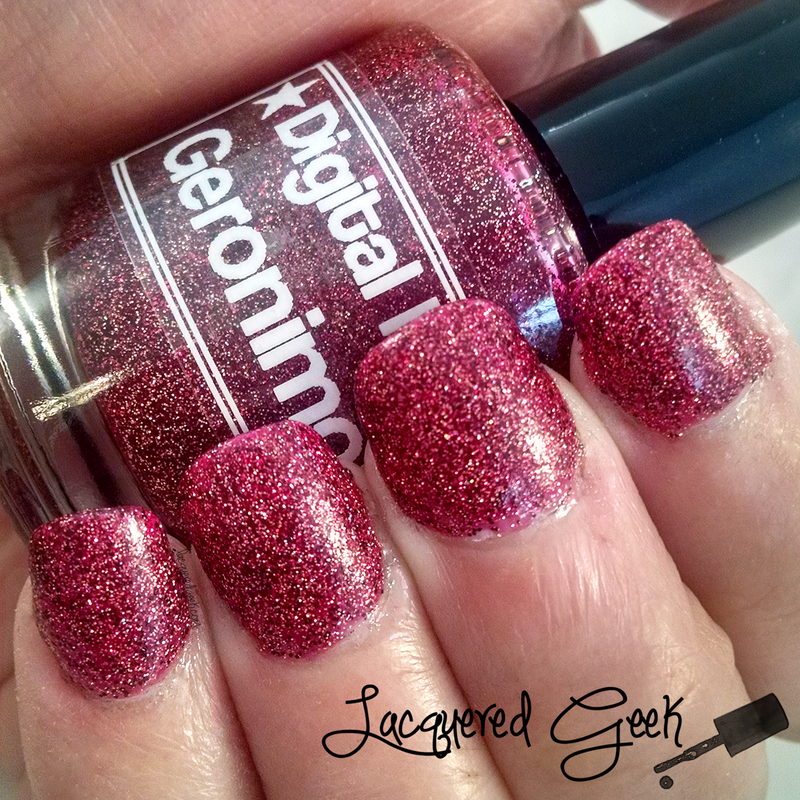 Digital Nails Geronimo Swatch by Kim (Lacquered Geek)