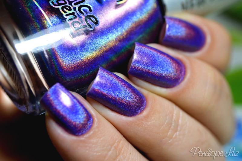 Dance Legend Cosmic Rainbow Swatch by Penélope Luz