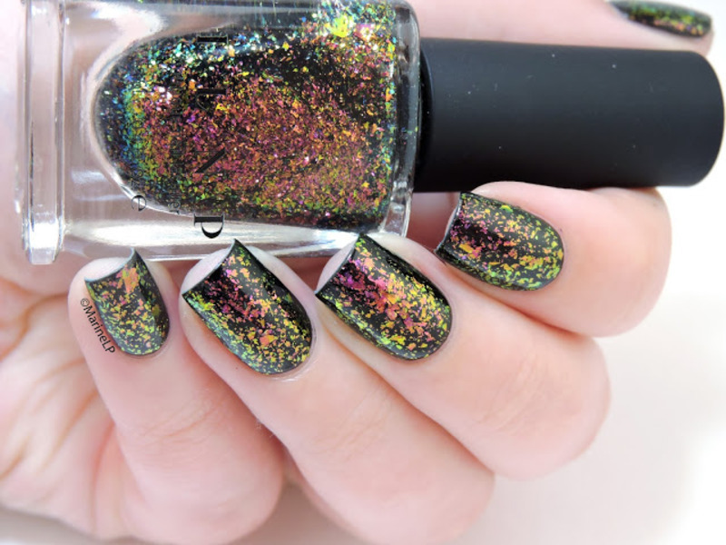 ILNP Electric Carnival Swatch by Marine Loves Polish