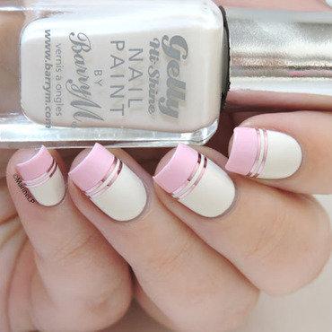 Doublegum nail art by Marine Loves Polish