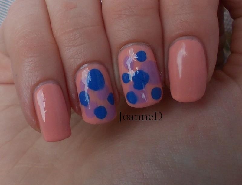 Irregular blobbicure nail art by JoanneD