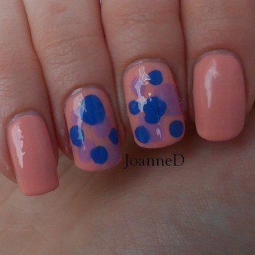 Irregular blobbicure nail art by JoanneD