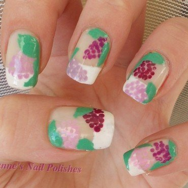 Lilac nail art by JoanneD