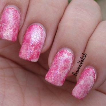 Pink Opal nail art by Lynni V.