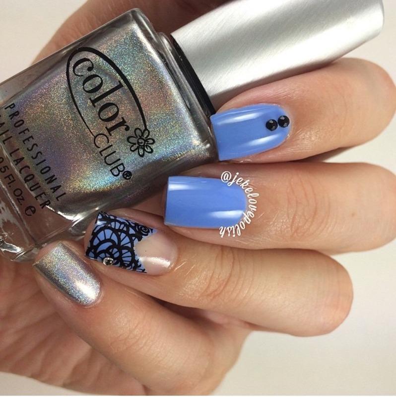 Lace nails 💎 nail art by Jesmary