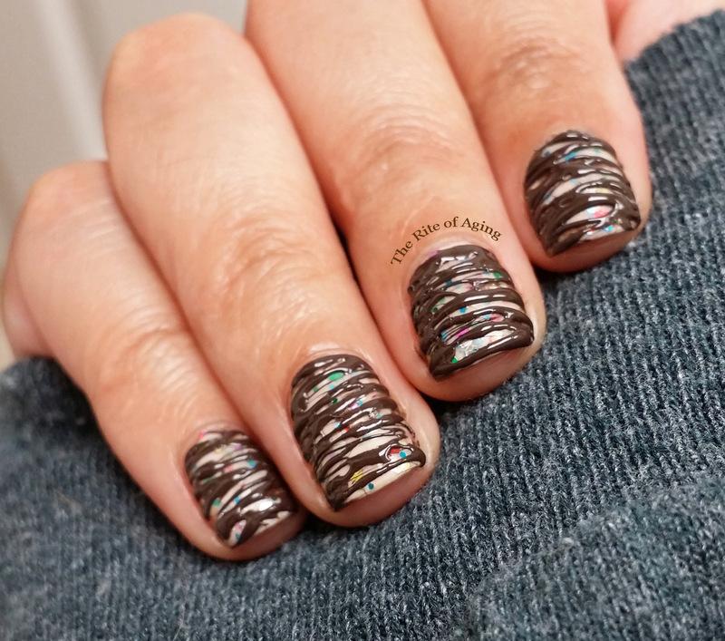 Funfetti Cupcake Nail Art nail art by Monica